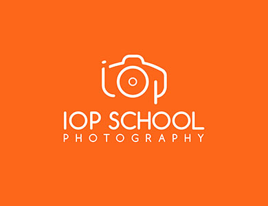 IOP School Photography Logo